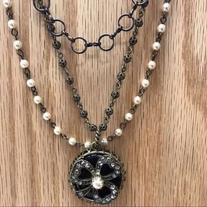 Jewelry - Lucky Clover Multi-Chain Vintage Vibe Necklace,NWT
